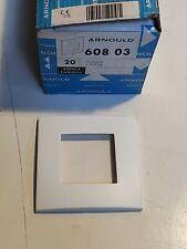 Arnould 60803 Plaque 1 Poste Blanc - Espace Lumiere