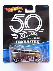 Hot Wheels 2018 Volksvagen T1 Drag Bus 50th Favorites 6/10 Mattel Diecast FLF41