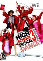 High School Musical 3 Senior Year Dance Nintendo Wii Game