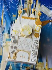 2020 Disney World Parks It's A Small World Attraction Ornament New Miniature