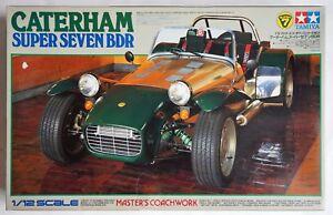 TAMIYA 1/12 Caterham Super Seven BDR Master's Coachwork #10201 scale model kit