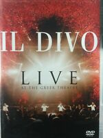 Il Divo - Live at the Greek (DVD, 2006)