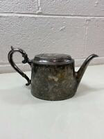 Vintage Pewter Teapot Collectible Decorative Tableware