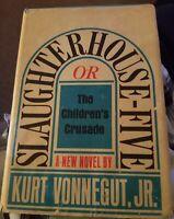 Slaughterhouse Five 1st Ed 3rd Printing Classic Humor War