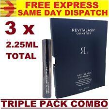 3 x REVITALASH ADVANCED Eyelash Conditioner 0.75ml ➜ TOTAL 2.25ml 3 MONTH SUPPLY