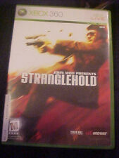 Stranglehold John Woo (Microsoft Xbox 360, 2007) Retail Value $17.99 FREE SHIP!