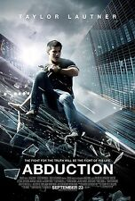 Abduction Original Double-Sided One Sheet Rolled Movie Poster 27x40 NEW 2011