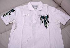 Polo ADIDAS, taglia L, colore Bianco, vintage, era Lendl Borg Becker Agassi.