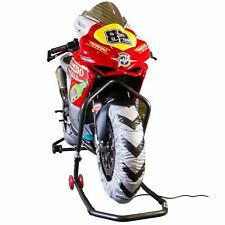 Biketek PRO delanteras y traseras Superbike Moto calentadores de neumáticos 180/190 -17, 3 Pin Reino Unido