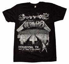 Metallica Damage on Tour T-Shirt Bravado Entertainment Black New BRA#13591293