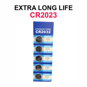 5 x New LITHIUM BATTERY 3V CR2032 CR 2032 BR2032 DL2032 Remote Button Cell Watch