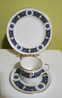 RARE Aynsley Rembrandt Tea Cup, Saucer, Dessert Plate Trio Set