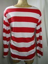 Where's Waldo Costume Shirt size large / Xl