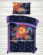 Sun Mandala Duvet Cover Reversible Indian Doona Cover Ethnic Bedding Set Throw
