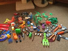 Matchbox Police 405 Rader Huge Toy Lot Home Depot Tools Trees FP Look!!!!