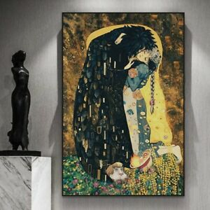 New Poster Beauty and The Beast Figure Canvas Painting Wall Art Nature Frameless