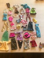 Massive Lot Of Barbie & Smaller Doll Clothes 36 Pieces Lot 2