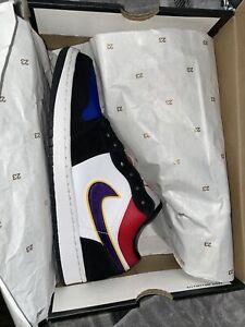 Size 9.5 - Jordan 1 Low Rivals 2019