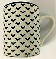 Tiffany Co Classic Vintage Retro Black & White Gotham Mug-Rare $75 Value