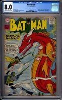Batman 138 CGC Graded 8.0 VF DC Comics 1961