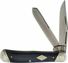 Rough Rider Trapper Black Smooth Bone Titanium Folding Pocket Knife RR1780