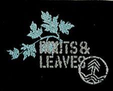 Applikation zum Aufbügeln Bügelbild  2-491 Leaves