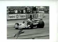 Alan Jones Hesketh 308B F1 International Trophy 1975 Signed Photograph 2