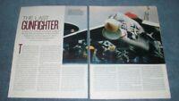"2012 Vought F-8 Crusader Jet Plane Info Article ""The Last Gunfighter"""