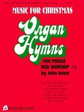 Organ Hymns for Praise and Worship Volume 3 Sheet Music Organ NEW 008738377