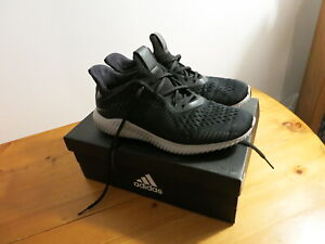 Mens Adidas Alphabounce Black Trainers  - Size 8 / 42