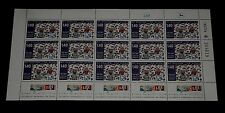 1976, ISRAEL, #623, CHILDREN DRAWING, 1.40, SHEET/ 15, MNH, NICE! LQQK!