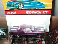Hot Wheels Classics series 1  #2 1965 PONTIAC GTO light purple