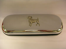 JACK RUSSELL TERRIER dog brand new chrome glasses case great gift birthday