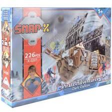 Snap X Foncé Galleon Pirate Aventures 226 Pièce Construction Jeu Set de Cadeau
