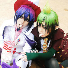 Ao No Exorcist Mephisto And Amaimon Combination Cosplay Wig Two Wigs + 1 Beard