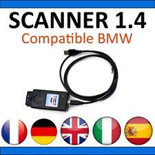 Interface Diagnostic Scanner V1.4 Compatible BMW / K+DCAN / K-CAN / OBD2 OBDII