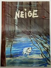 French Book Niege by Grégoire Solotareff