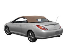Toyota Solara 2004-09 Convertible Soft Top w/Glass Window, Stayfast Cloth, Beige