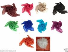 Handmade Solid 100% Silk Scarf Scarves & Wraps for Women