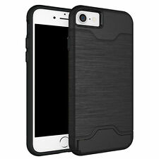 Rigid Plastic Mobile Phone & Pda Fitted Case/skins for Apple with Card Pocket