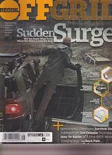 OFFGRID MAGAZINE #13 2016, SUDDEN SURGE.