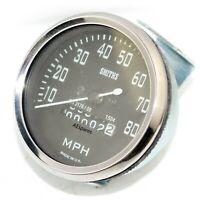 Replica Smiths Speedometer Speedo 80 Mph For Royal Enfield BSA Norton