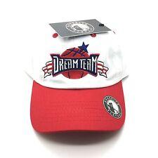 White Red USA DreamTeam Dad Cap Hat