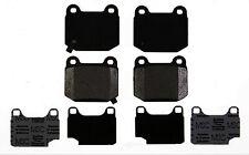 Disc Brake Pad Set-Semi Metallic Disc Brake Pad Rear ACDelco Pro Brakes 17D961M
