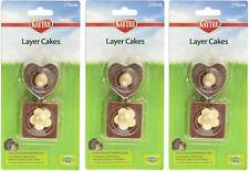 (3 Pack) Kaytee Layer Cakes Chew Toy For Rabbits 2pc