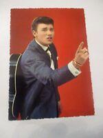 rar carte postale dentellé no 266 edug JOHNNY HALLYDAY s.levin