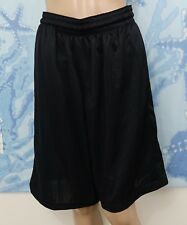 Nike Men's Layup 2.0 Basketball black athletic Shorts, Size M - Waist Has Issue