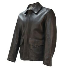 Raiders of Lost Ark Leather Jacket in Washed Lamb