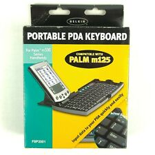 Belkin Portable PDA Keyboard For Palm m500 Series And m125 NEW F8P3501