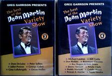 DEAN MARTIN - BEST OF DEAN MARTIN VARIETY SHOW - VOL. 3 & 4 - (2) DVD'S - SEALED